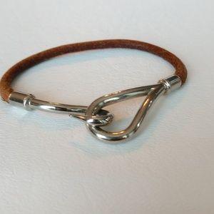 Hermes Large Hook Bracelet